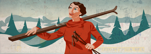 TG skiing